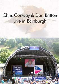 Chris Conway & Dan Britton - Live in Edinburgh DVDr