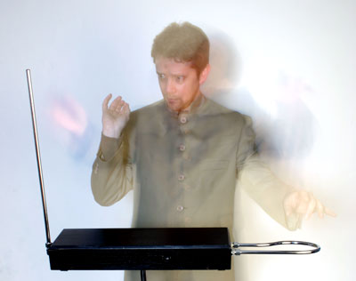 Chris Conway theremin